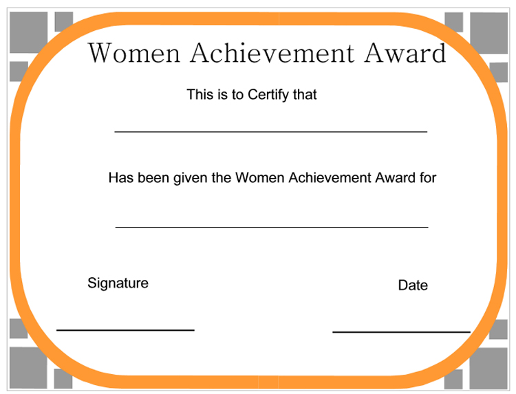 district award of merit certificate template - wording for award nomination just b cause