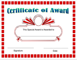Click Here To Downoad · Click Here To Downoad  Printable Certificate Of Recognition