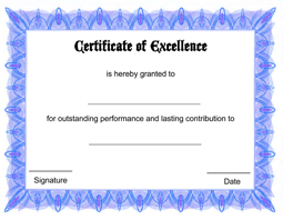 certificate of excellent april onthemarch co