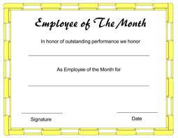 Marvelous Click Here To Downoad ...  Free Employee Of The Month Certificate Template