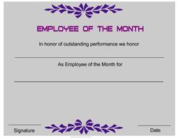 employee award certificate templates certificatetemplatenet