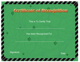 Recognition certificate free printable templates click here to downoad yelopaper Choice Image