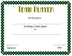 Printable sports award certificate templates for Sports certificate templates free printable