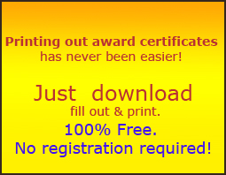 free certificate of template